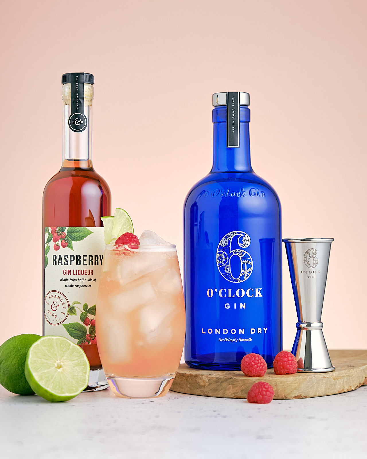 The Florodora gin cocktail - with Raspberry, Lime & Ginger Ales