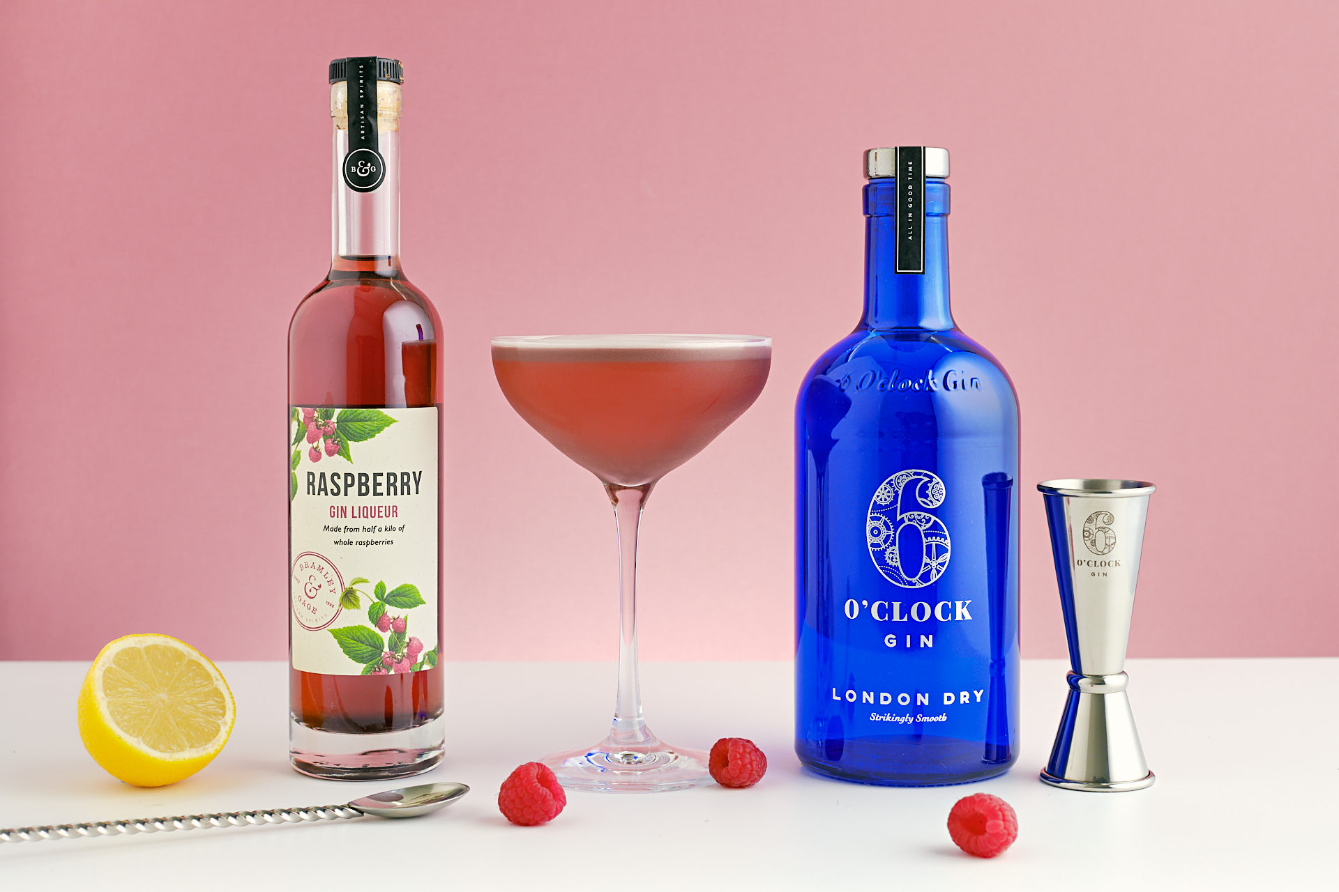 The Clove Club: A fruity and refreshing gin cocktail made with raspberry