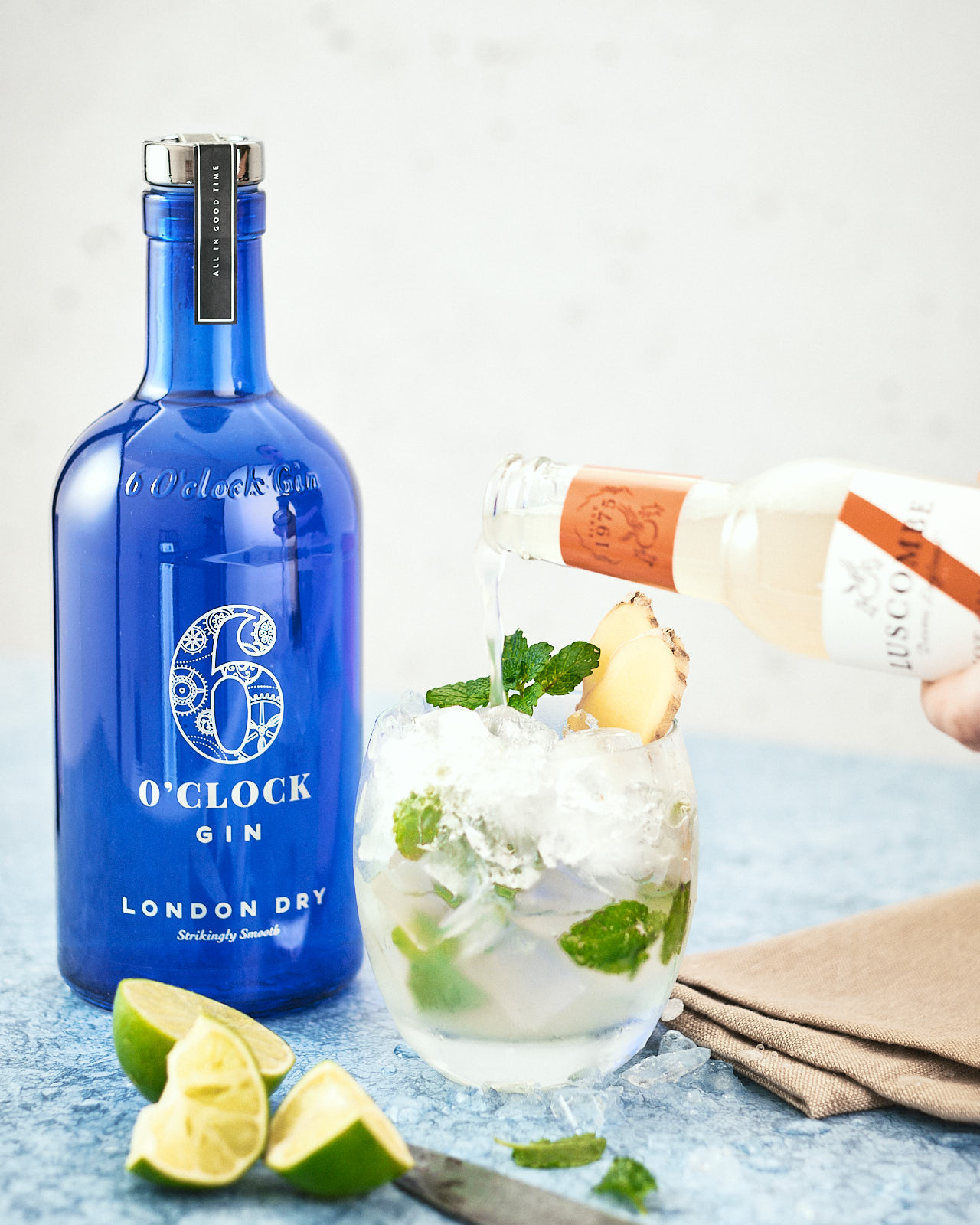 The Gin Gin Mule - A refreshing gin cocktail with lime, mint and ginger.