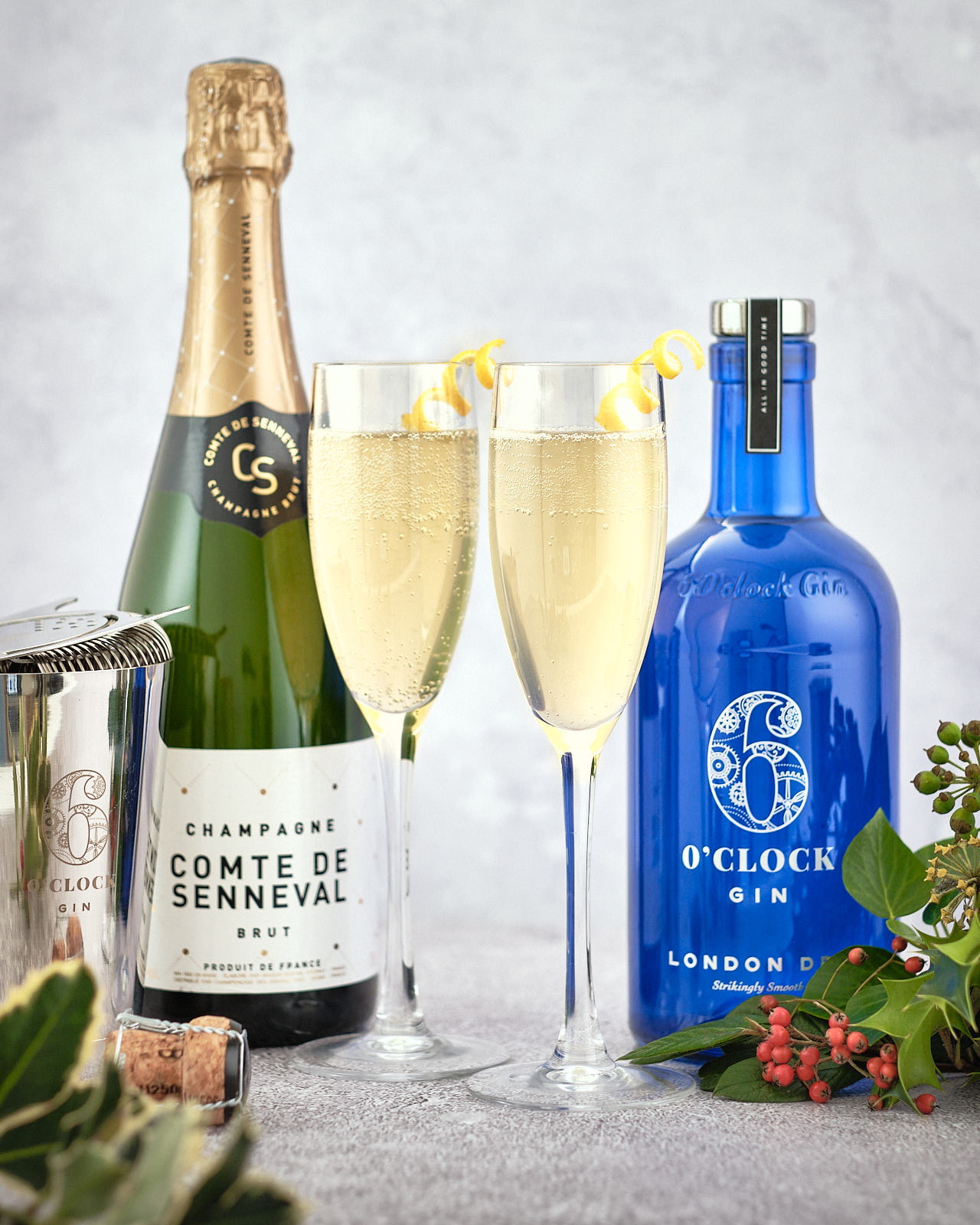 The Fresh 75 - A classic gin cocktail made with Champagne.