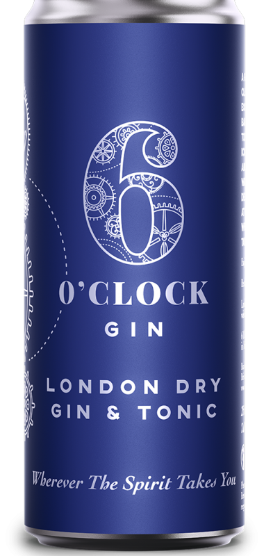 A render of the London Dry Gin & Tonic